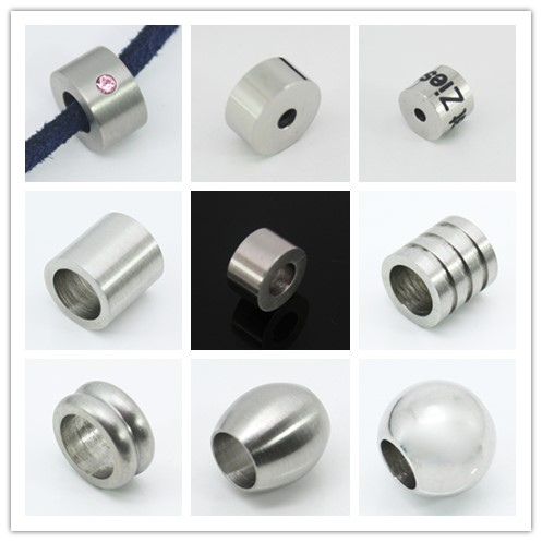 316 Stainless steel jewelry beads